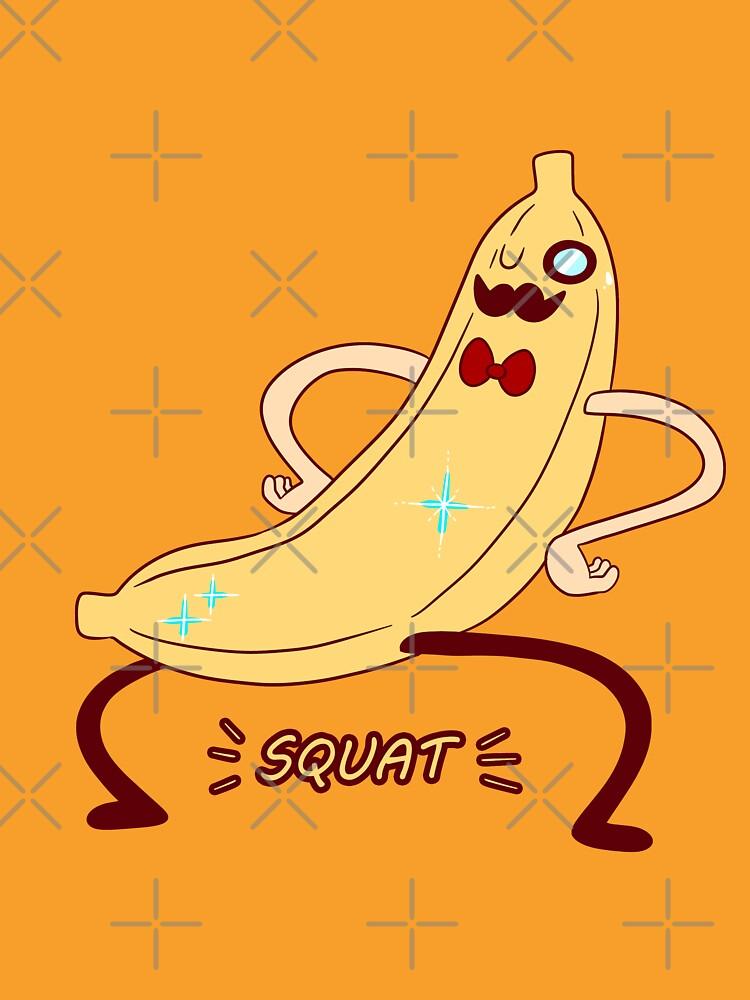 Dapper Banana Squat by SaradaBoru