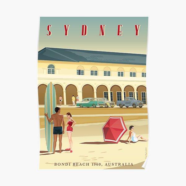 Sydney, Bondi Bathers Pavilion, 1960 Poster