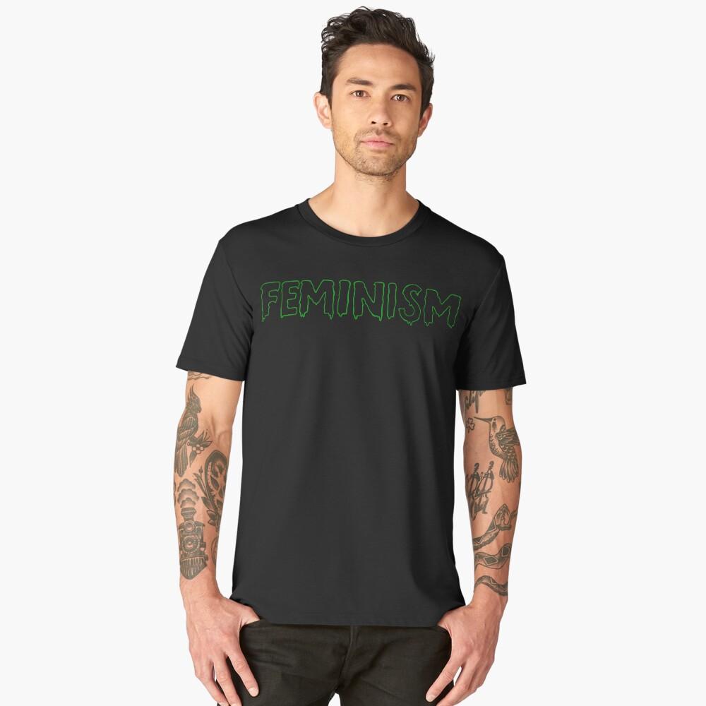 Slimy Feminism  Men's Premium T-Shirt Front