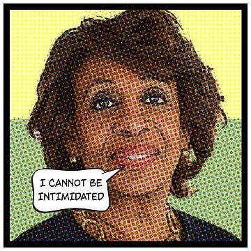 MAXINE WATERS: I cannot be intimidated by starkle
