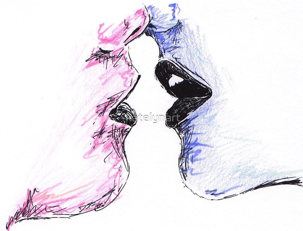A Lovers Kiss by katelynart