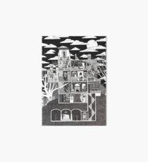 Haunted House Art Board