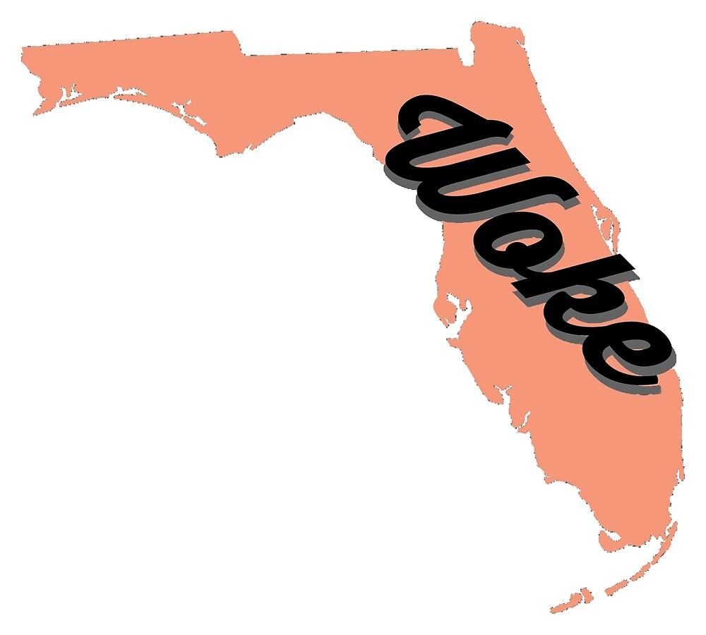 Woke Florida - orange by wokesouth