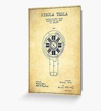 Nikola Tesla Inventor Shirt Greeting Card