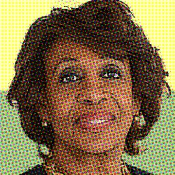 MAXINE WATERS by starkle