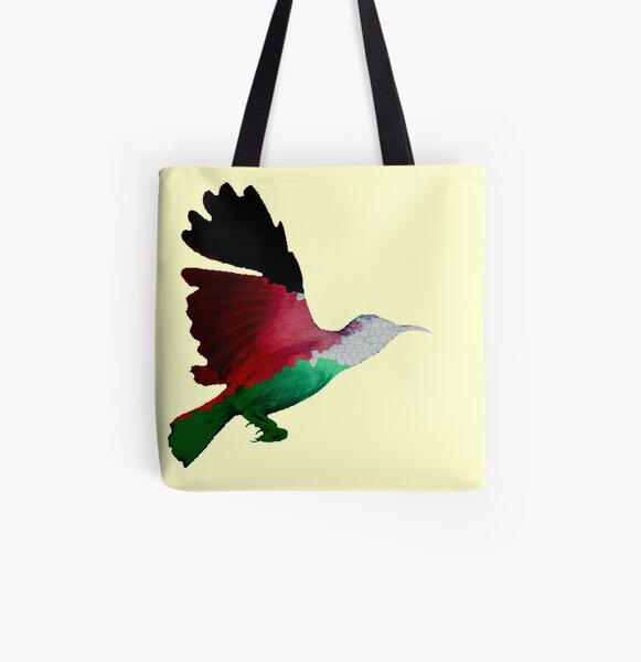 Palestine Sunbird  All Over Print Tote Bag