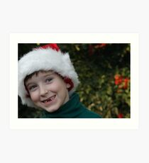 All I Want For Christmas Are My Two Front Teeth Art Print