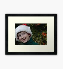 All I Want For Christmas Are My Two Front Teeth Framed Print