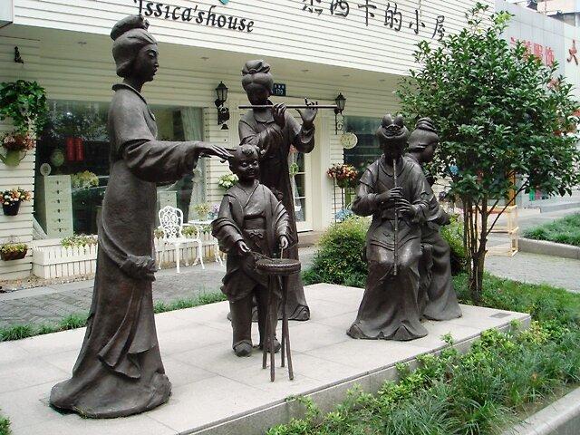 Traditional chinese musical group - Hangzhou City, China by JiHongZhang