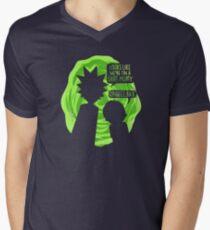Oh Geez Rick Men's V-Neck T-Shirt
