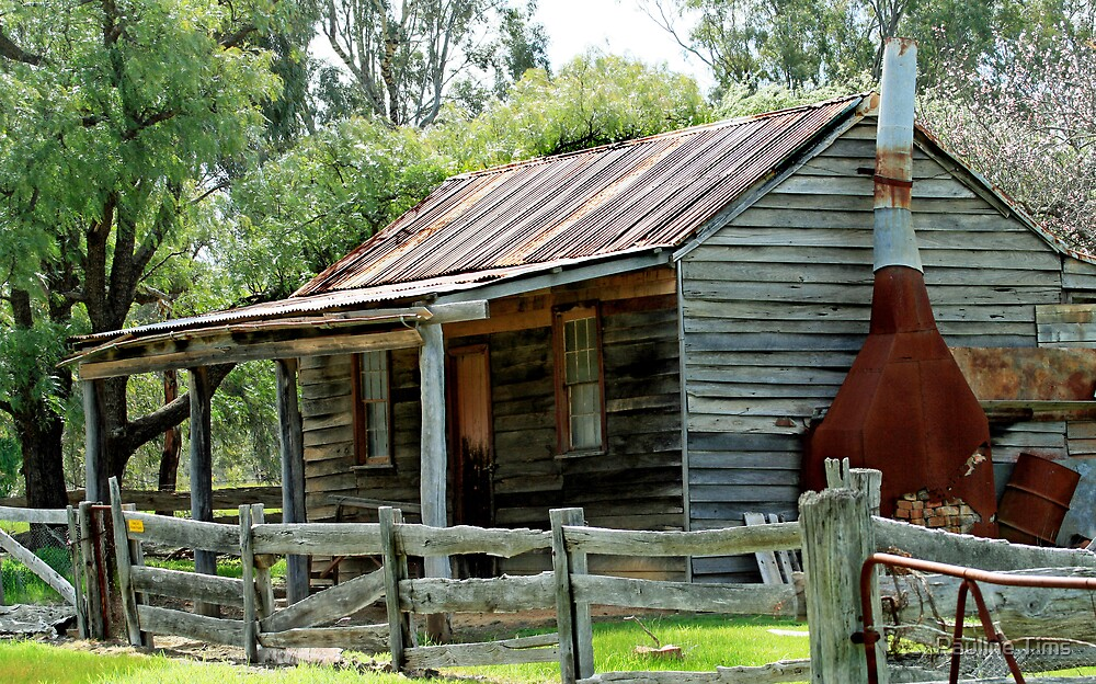 Cottage at Costerfield VIctoria by Pauline Tims