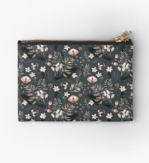Black Crow and Butterflies Studio Pouch