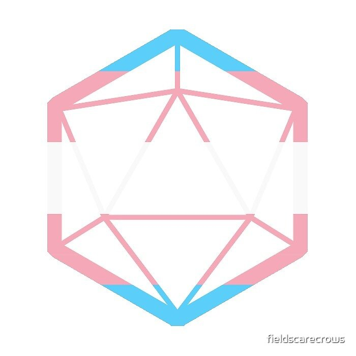 D20 Trans flag by fieldscarecrows