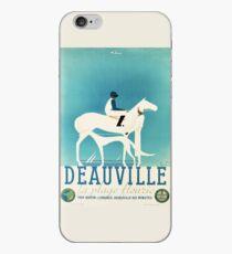 Art Deco Horse Racing, Greyhound Racing, vintage sport iPhone Case