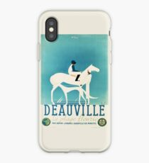 Art Deco Horse Racing, Greyhound Racing, vintage sport iPhone Case