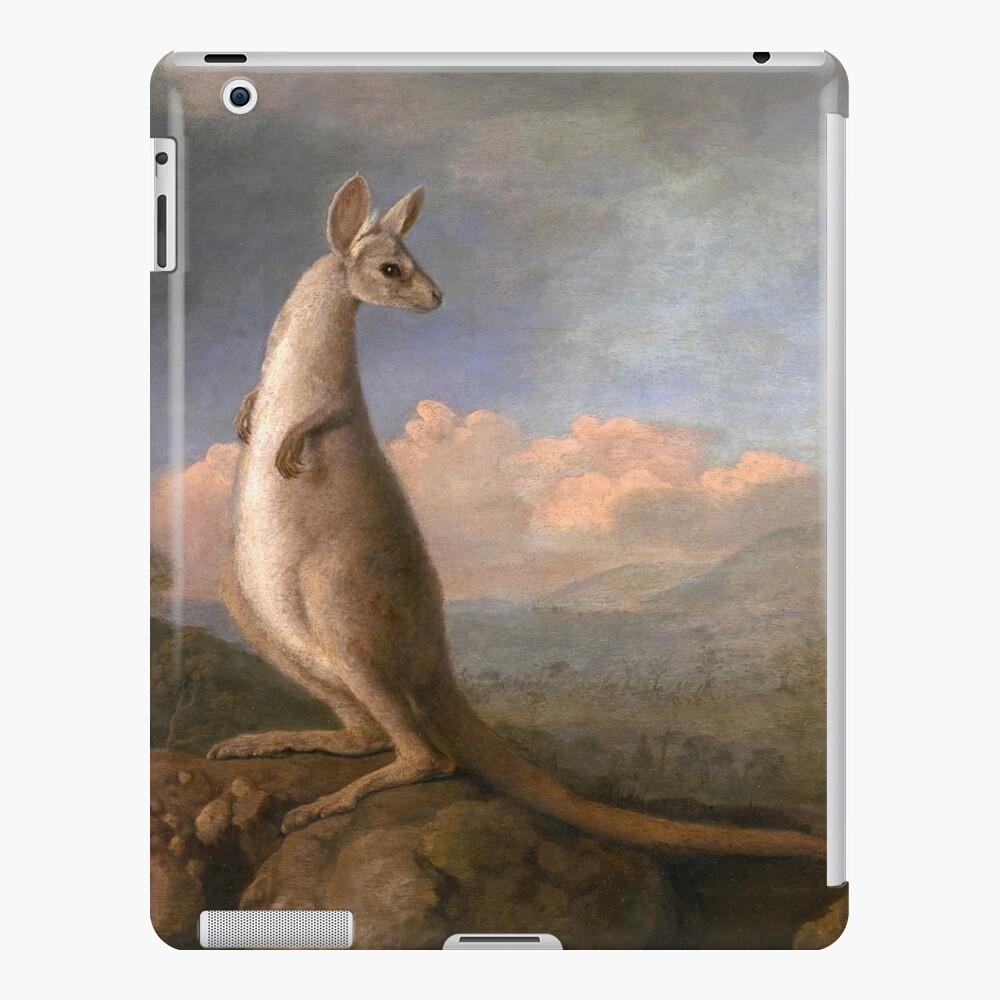 The Kongouro Oil Painting by Australian Artist George Stubbs iPad Case & Skin