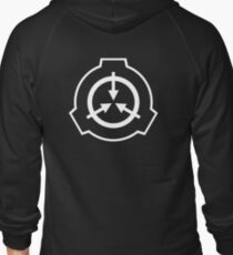 SCP Zipper Hoodie (Black) T-Shirt