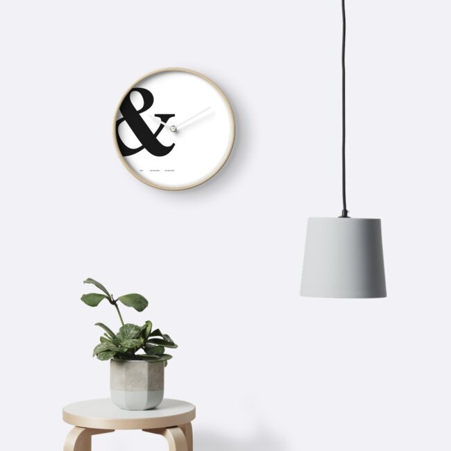 Ampersand Typography Print by aprilfourth