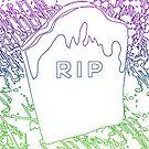 RIP Gravestone by Jessica Slater