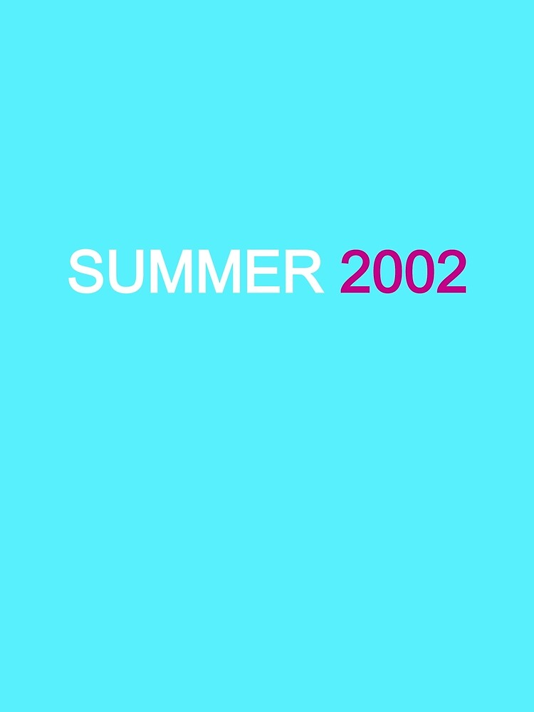 SUMMER 2002 by travistees