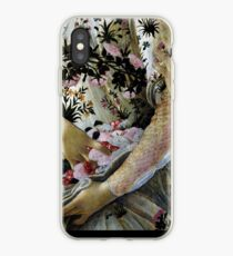 Botticelli Primavera closeup vintage painting iPhone Case