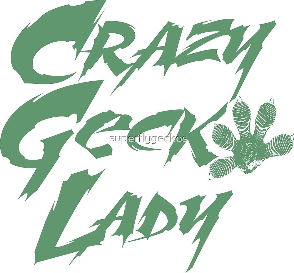 Crazy Gecko Lady Green by superflygeckos
