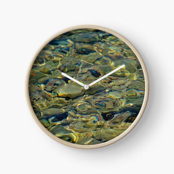 Pebbles in the Adriatic Clock