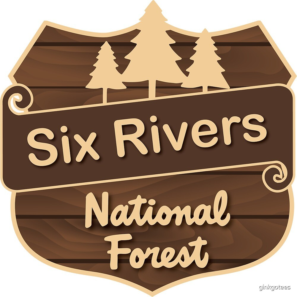 Six Rivers National Forest by ginkgotees