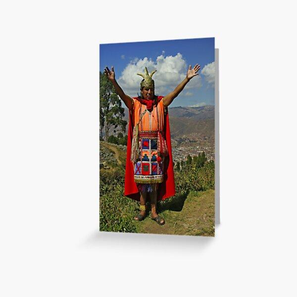King of Incas Carte de vœux