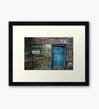 Rural Door Framed Print