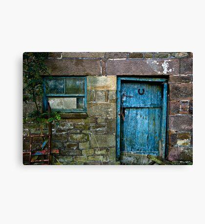 Rural Door Canvas Print