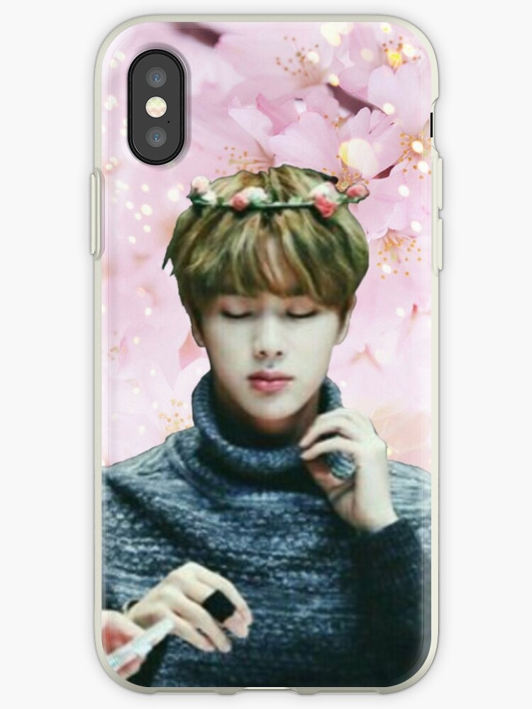 BTS JIN phone case by HakimahAlam