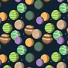 «Siete Planetas. Patrón» de medibu