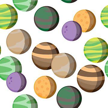 Seven Planets Pattern by medibu