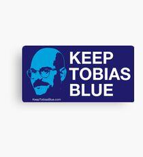 Keep Tobias Blue Canvas Print