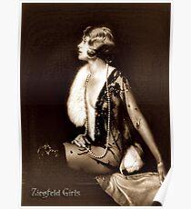 Ziegfeld girl - Muriel Finlay Poster