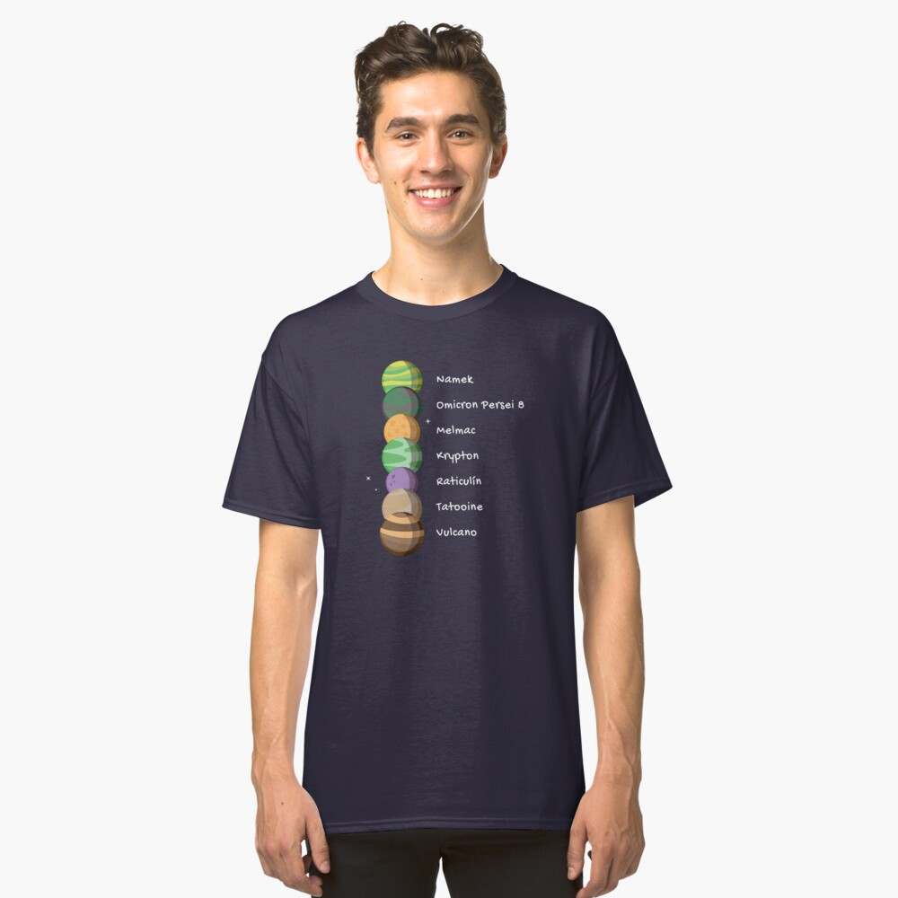 Siete Planetas Camiseta clásica