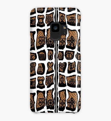 Blanc et noire Case/Skin for Samsung Galaxy