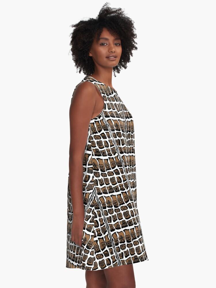 Alternate view of Blanc et noire A-Line Dress