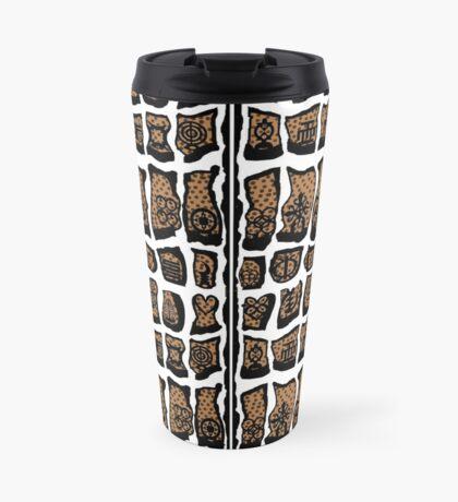 Blanc et noire Travel Mug