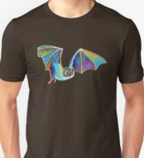 Cute Flying Halloween Bat Named Batrick Swayze T-Shirt