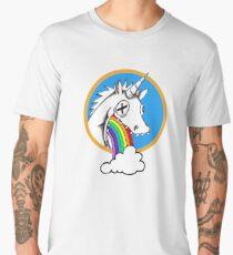 Drunk Unicorns Make Rainbows! Men's Premium T-Shirt