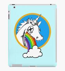 Drunk Unicorns Make Rainbows! iPad Case/Skin