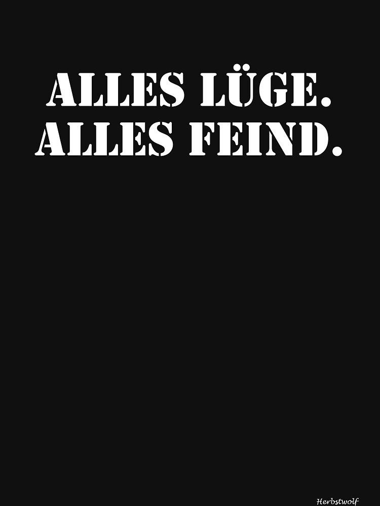 All lie. All enemy. by Herbstwolf