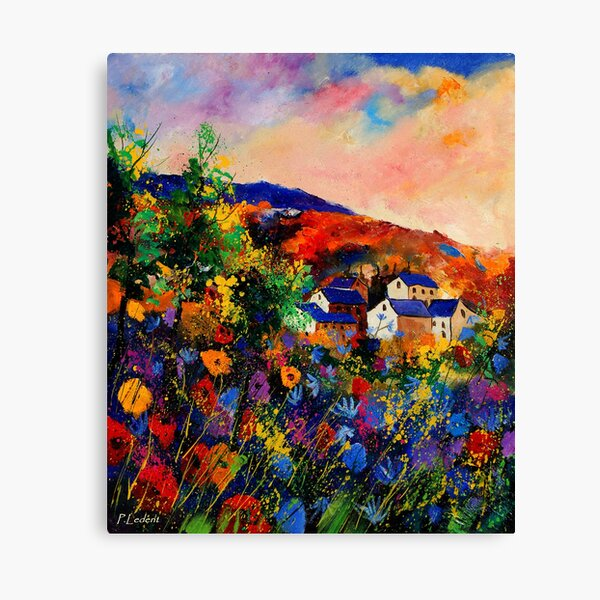 Summer 670808 Canvas Print
