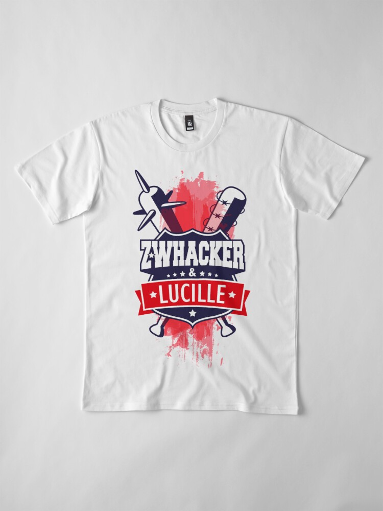 Vista alternativa de Camiseta premium Z-Whacker & Lucille