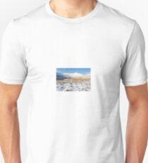 Snowy Tracks to Pen Y Fan T-Shirt