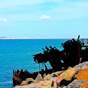 Shipwreck by MeganLouiseAU