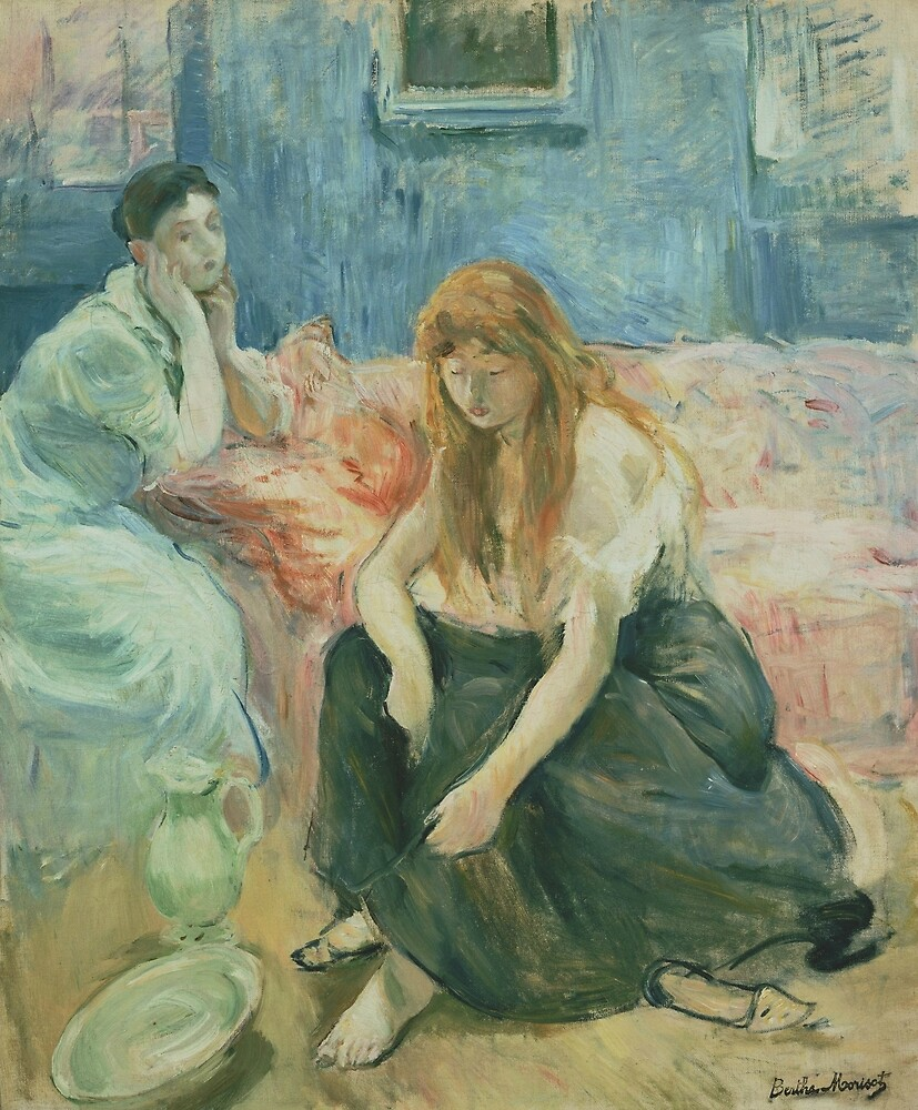Two Girls by Berthe Morisot by classicartcache