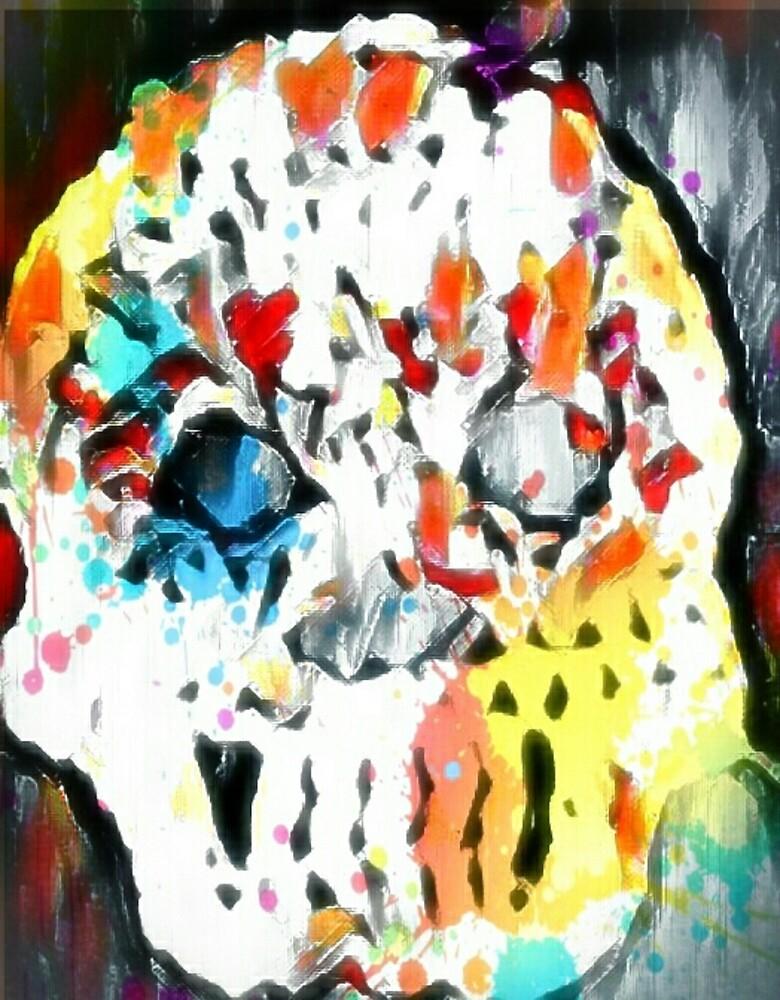 Splattered Skull by dmtf